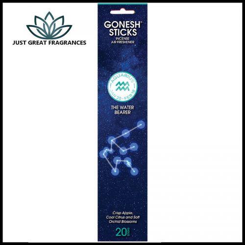 Aquarius Incense : Gonesh Zodiac Collection