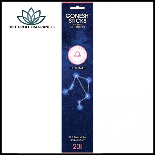 Libra Incense : Gonesh Zodiac Collection