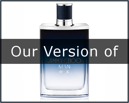 Man Blue : Jimmy Choo type (M)